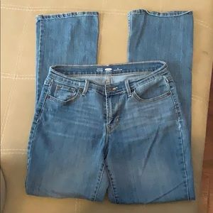 Old navy size 8 bootcut jeans